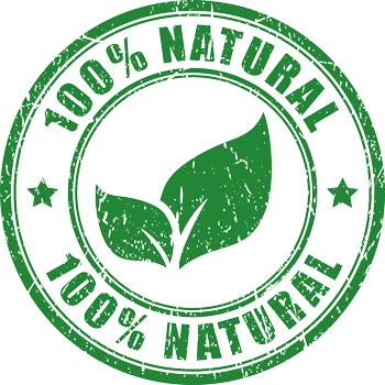 100% Natürlich - keine Spritzmittel; kein Kunstdünger; keine Pestizide